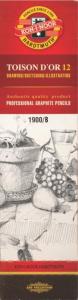 SVINČNIK GRAFITNI KHN 1900 B 13106