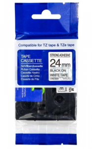 TRAK TZ-251 24MMX8M ČRNA NA BELEM KOMPATIBILEN (TZE251)
